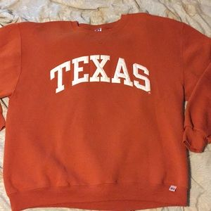 Texas Russell crewneck Cut and sewn Size large